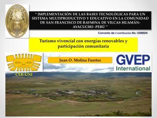Turismo vivencial con  energías renovables  y  participación comunitaria
