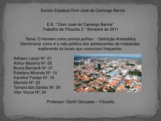 Escola Estadual Dom José de Camargo Barros