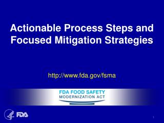 Actionable Process Steps and Focused Mitigation Strategies