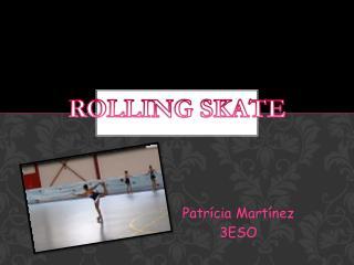 Patrícia  Martínez 3ESO