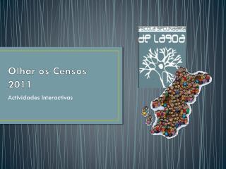 Olhar os Censos  2011