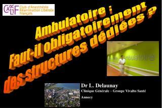 Dr L. Delaunay Clinique Générale –  Groupe  Vivalto Santé  Annecy