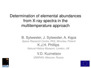 Determination of elemental abundances from X-ray spectra in the  multitemperature  approach