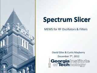 Spectrum Slicer
