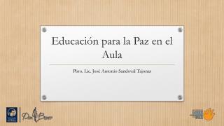 Educación para la Paz en el Aula