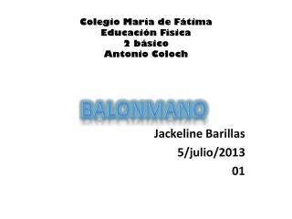 C olegio María de Fátima Educación Física 2 básico Antonio Coloch