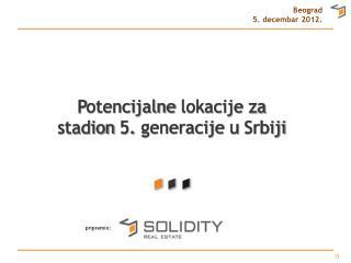Beograd 5.  decembar  2012.