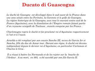 Ducato di Guascogna