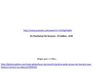 Os  Paralamas  Do Sucesso - O Calibre...4:49