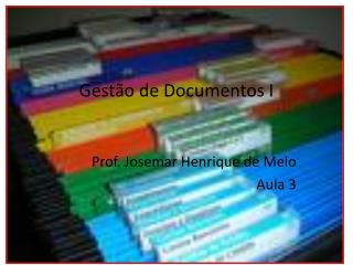 Gest�o de Documentos I
