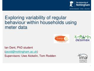 Exploring variability of regular behaviour within households using meter data