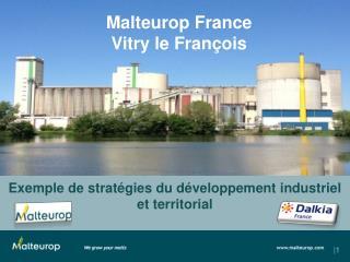 Exemple de stratégies du développement industriel  et territorial