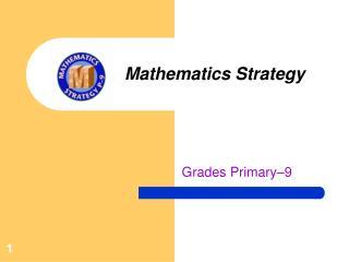 Mathematics Strategy