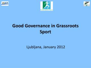 Good Governance in Grassroots Sport