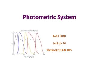 Photometric System