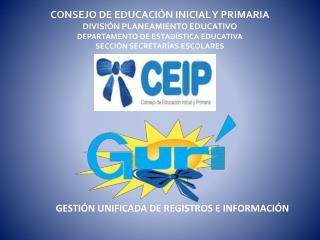 GESTIÓN UNIFICADA DE REGISTROS E INFORMACIÓN