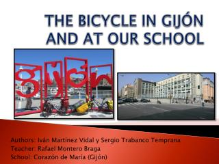 THE BICYCLE IN GIJÓN AND AT OUR SCHOOL