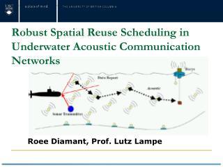 Roee  Diamant ,  Prof. Lutz  Lampe