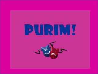 Purim!