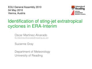 Identification of  sting-jet  extratropical cyclones in ERA-Interim