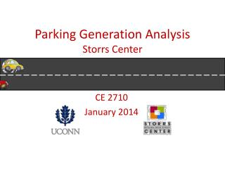 Parking Generation Analysis Storrs Center