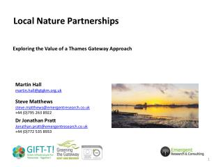 Local Nature Partnerships
