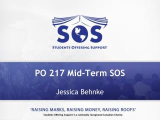 PO 217 Mid-Term SOS