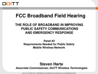 FCC Broadband Field Hearing