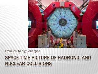 Space-time picture of hadronic and nuclear collisions