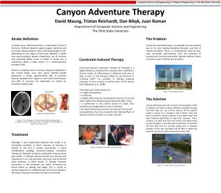 Canyon Adventure Therapy