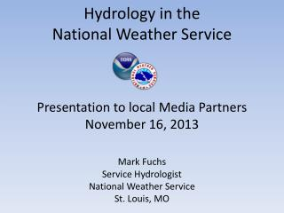 Hydrology in the  National Weather Service