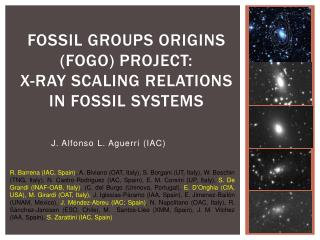 Fossil Groups Origins (FOGO) project:  X- ray scaling relations  in  Fossil systems