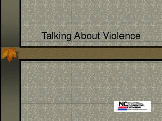 Talking About Violence