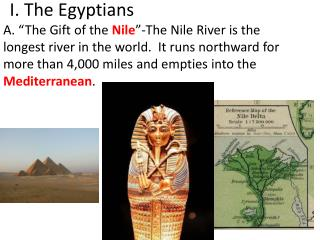 I. The Egyptians