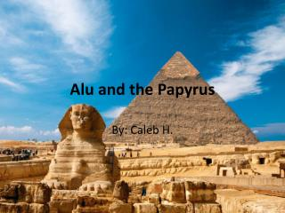 Alu and the Papyrus
