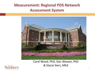 Measurement: Regional PDS Network Assessment System