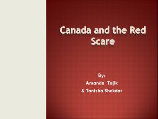 Canada and the Red Scare