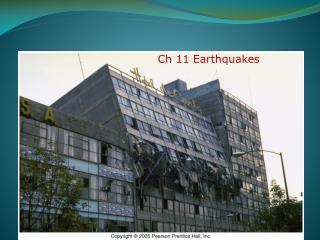 Ch 11 Earthquakes
