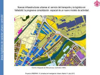 Centro Integrado de Mercancías. Centrolid (1999).