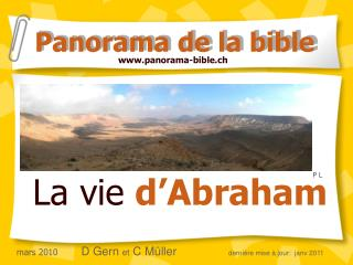 La vie  d'Abraham