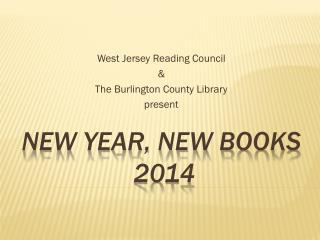 New year, new books  2014