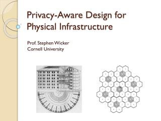 Privacy-Aware Design for  Physical Infrastructure