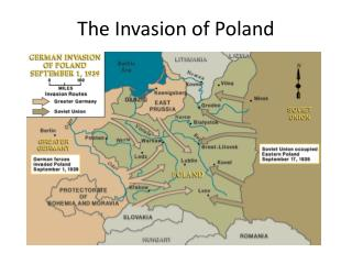 The Invasion of  Poland