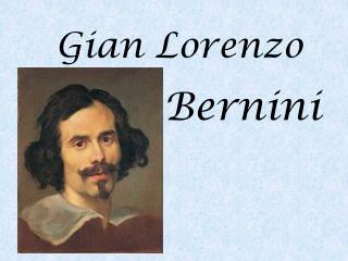 Gian Lorenzo