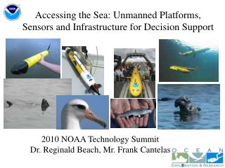Accessing the Sea: Unmanned Platforms, Sensors and Infrastructure for Decision Support