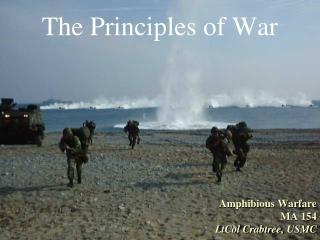 Amphibious Warfare MA 154 LtCol  Crabtree ,  USMC