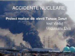 ACCIDENTE NUCLEARE