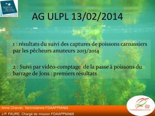 AG ULPL 13/02/2014