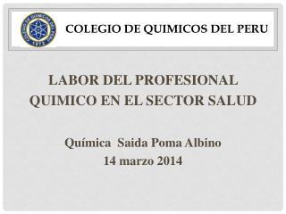 COLEGIO DE QUIMICOS DEL PERU