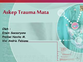 Askep  Trauma Mata